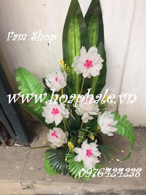 Hoa da pha le handmade