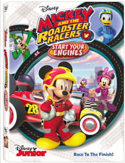 Mickey and the Roadster Racers: Start Your Engines DVD Review