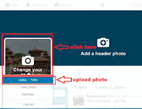 how to change profile image in twitter