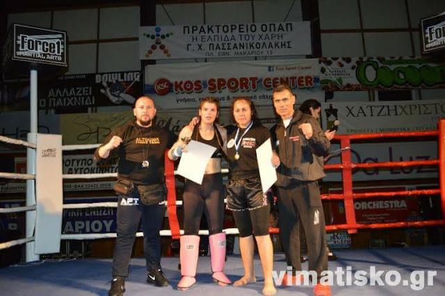 Με δύο ακόμα νίκες του Altounis Fight Team στην Κώ κλείνει με επιτυχίες η μαχητική χρονιά