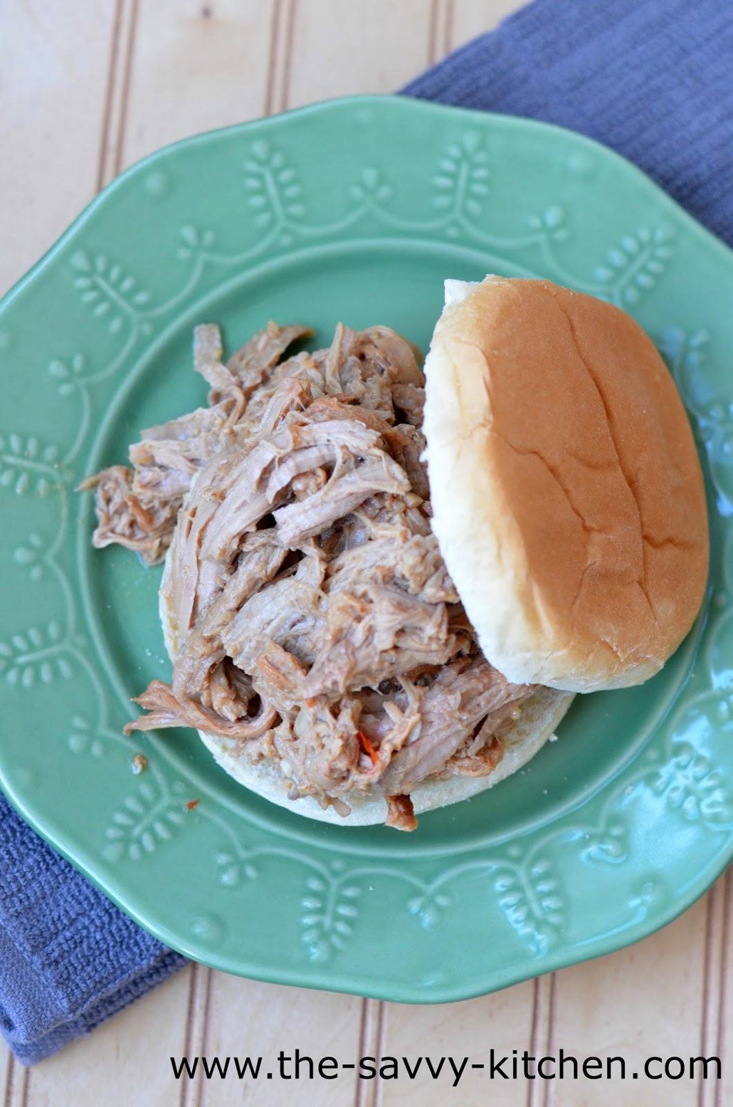 The Savvy Kitchen: Slow Cooker Hoisin Pulled Pork