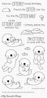 My Favorite Things - BB Otterly Love You Stamp Set