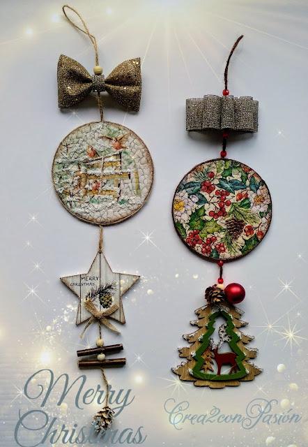 adornos-navideños-reciclando-cd-cascara-de-huevo-decoupage-cartel-Crea2-con-Pasión