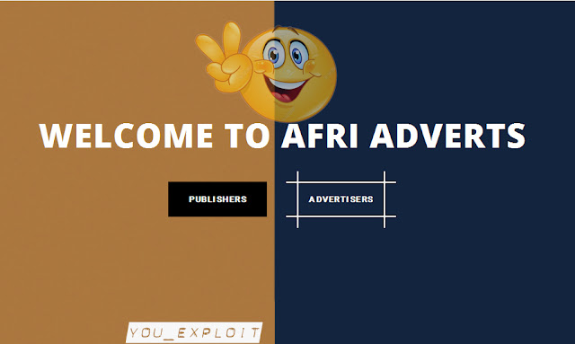 Sign up With AfriAdverts Today and Make cool Cash