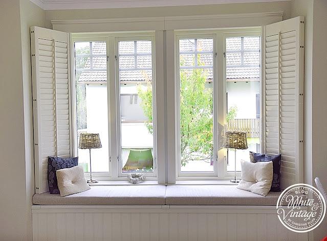 Gemütliches Sitzfenster im Schwedenhaus von Greenville