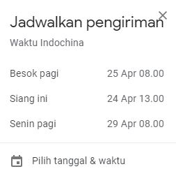 pick date and time
