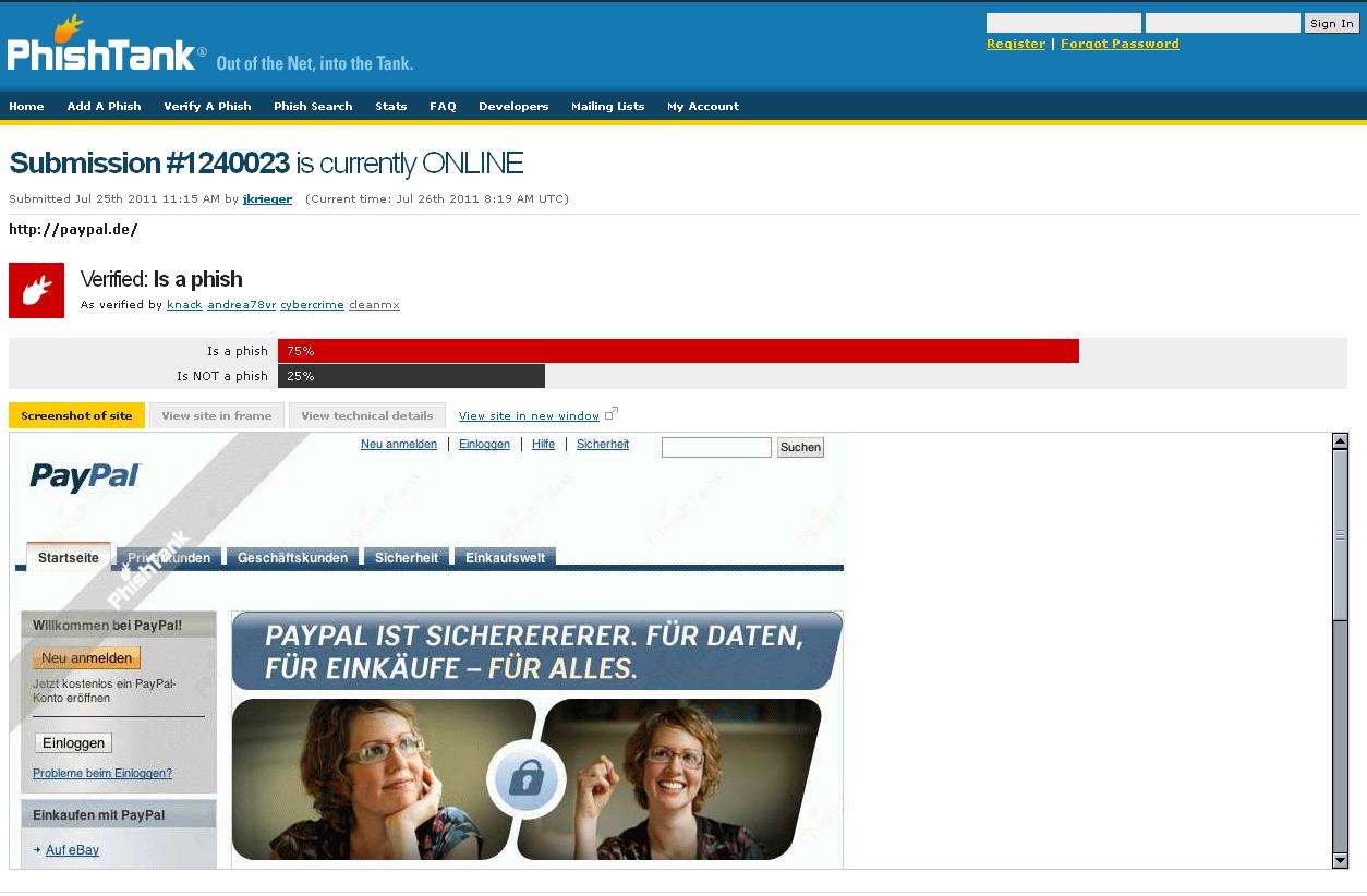 DynamooS Blog Phishing