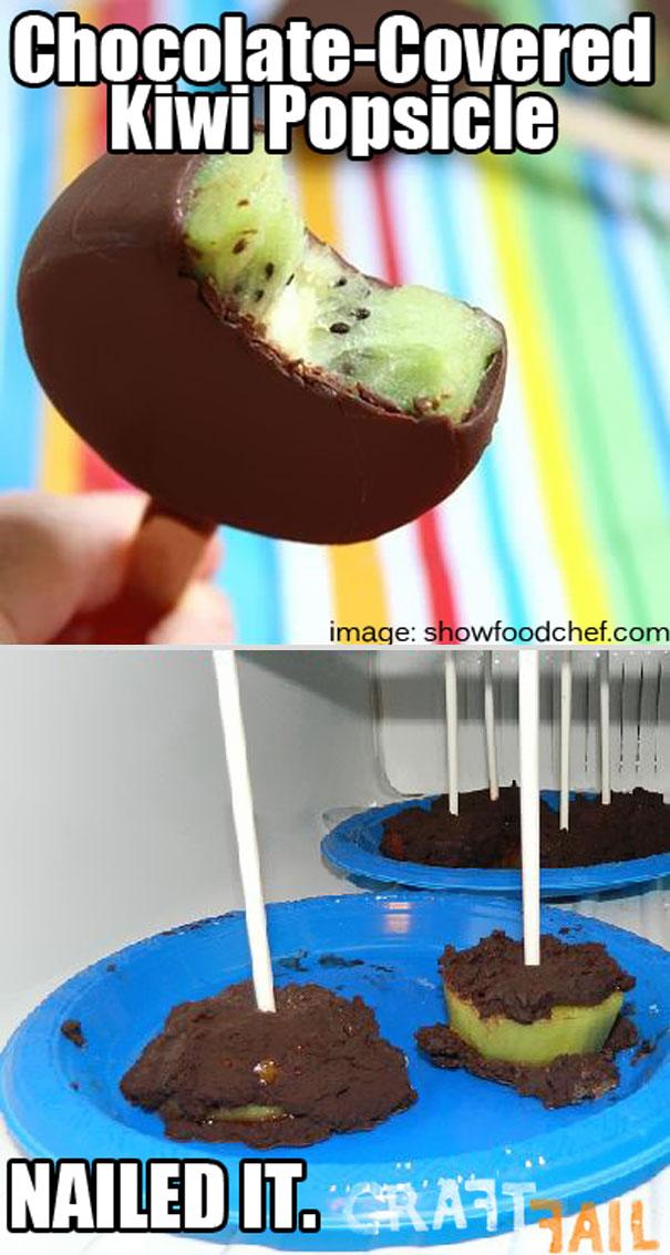 Chocolate-covered Kiwi