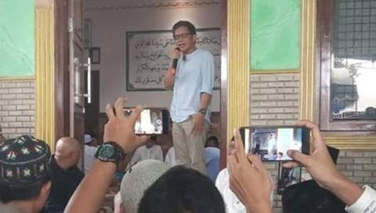 Rocky Gerung: Dia Pikir Kalau Saya di Situ Saya Akan Kritik Prabowo, ya Nggak
