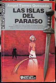 Portada del libro Las islas del paraíso, de Ángel Torres Quesada