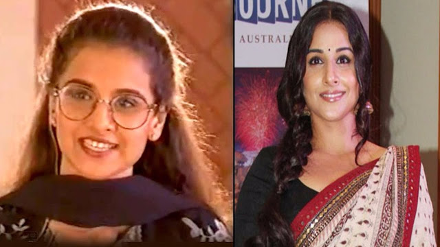 Vidya Balan Before After
