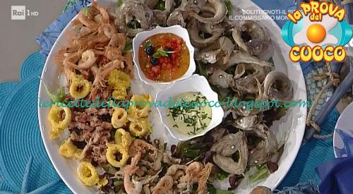 Frittura di pesce ricetta Salvatori e Improta da Prova del Cuoco