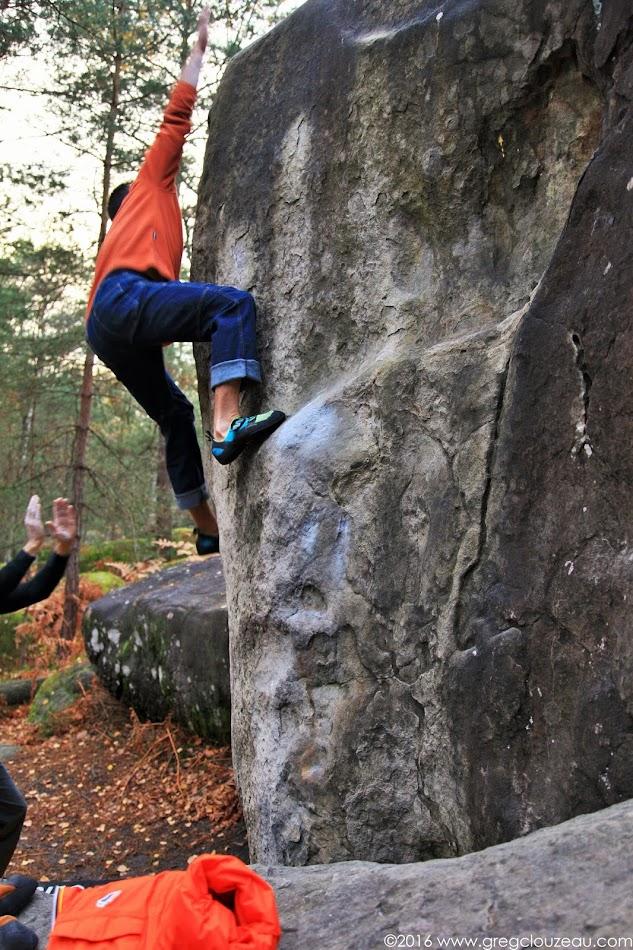 Ivan arque dans Clin d'œil, Apremont, Fontainebleau