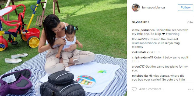 TWINNING: Bianca Gonzales And Baby Lucia Nails #OOTD and #Mommy Goals!