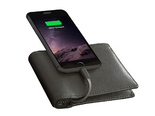 Nomad Leather MFi-Certified Charging Wallet