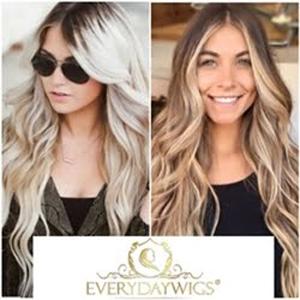 Balayage human Hair wigs