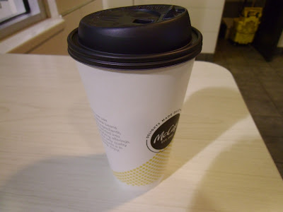 Large McDonald's Americano Coffee Cup
