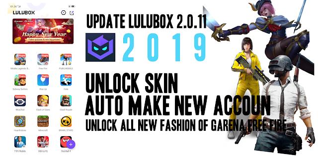 Download Lulubox Terbaru Versi 2.0.11+ Unlock Skin Free Fire PUBG Mobile Legends 5