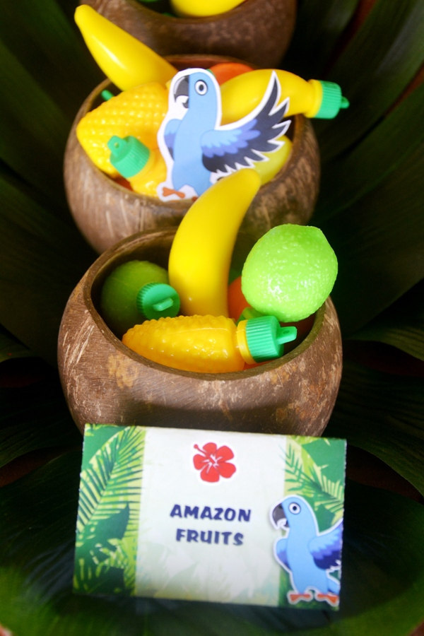Rio Amazon Forest Jungle Inspired Party Food Nd Treats
