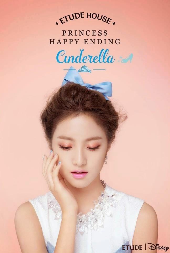 Makijaż inspirowany Etude House Princess Happy Ending: Cinderella