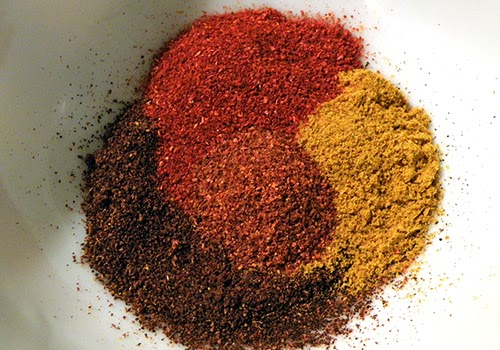 Topping Swirl Spices: Paprika, Curry, Chili, Cayenne