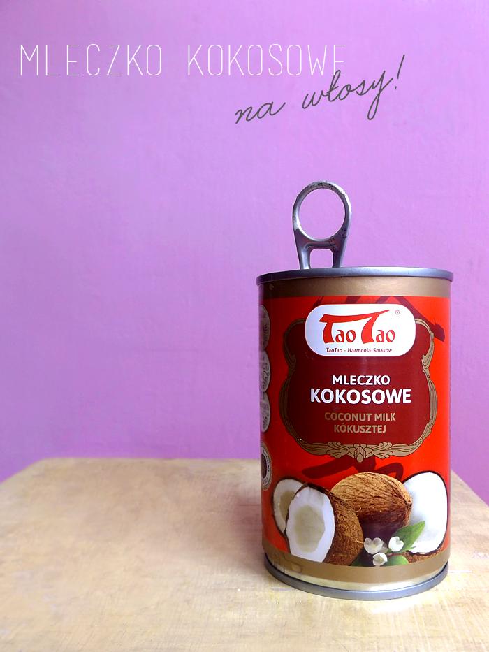 Domowa maska do włosów za grosze - mleczko kokosowe na włosy - Czytaj więcej »