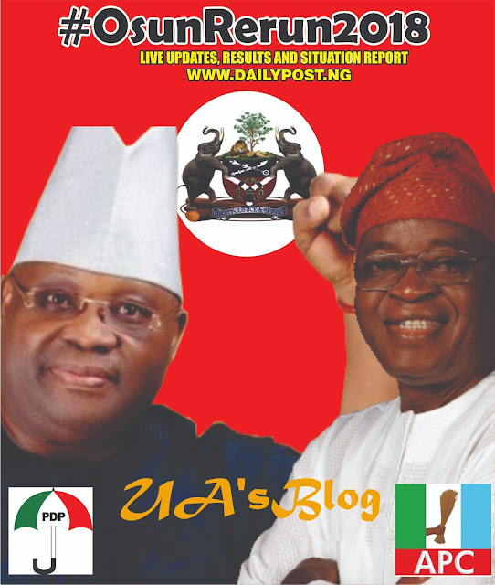 Osun rerun election: APC wins in 6 units, as PDP kicks [See results