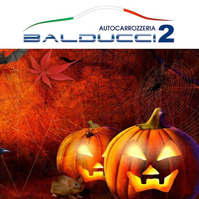 Buon Halloween dallo Staff Autocarrozzeria Balducci