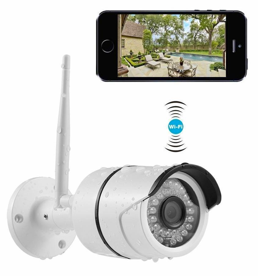 Camera Exterieur Infrarouge Wifi New Yi Outdoor Security Camera, Wireless Ip Waterproof