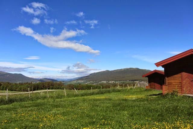 Noorwegen camping Dombas