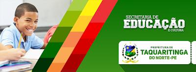 Resultado de imagem para secretaria de educação taquaritinga