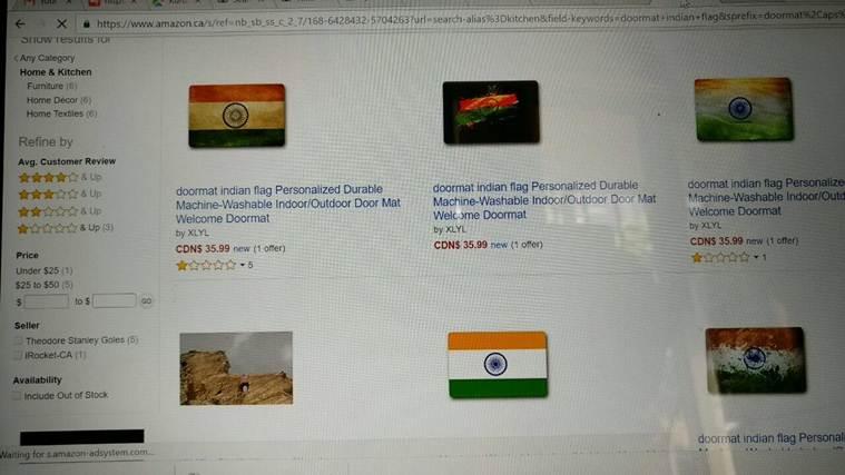 sushma swaraj warned amazon