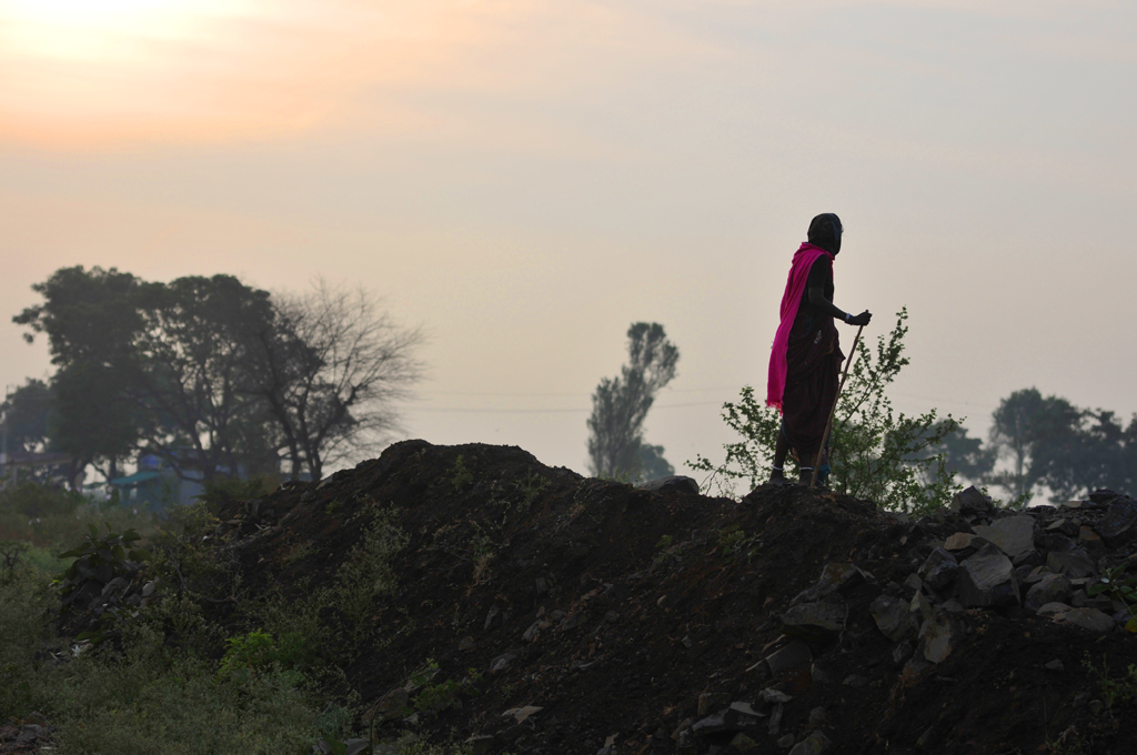 Shepherdess in India submitted to the 'Journeys 2020' photo competition on LensCulture.