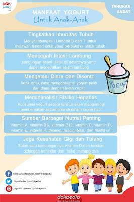 manfaat yogurt untuk anak-anak