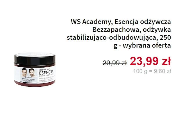 WS Academy, odżywka stabilizująco-odbudowująca
