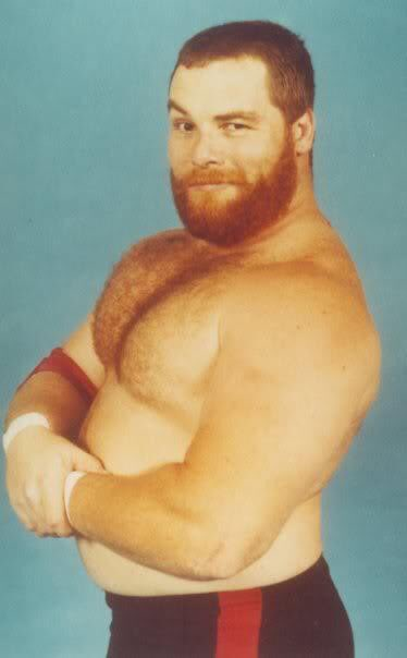 A Young Jim 'The Anvil' Neidhart looking like Sami Zayn