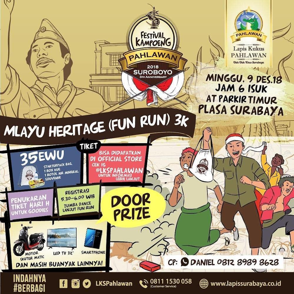 Mlayu Heritage (Fun Run) 3K • 2018