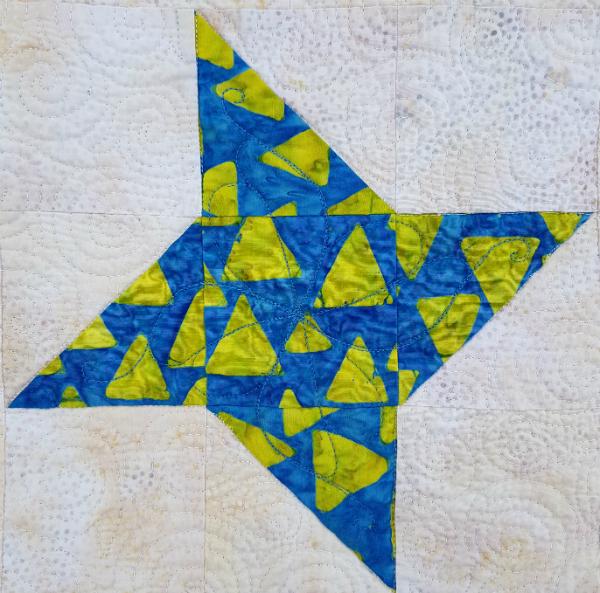 Reach for the Stars quilt | DevotedQuilter.blogspot.com