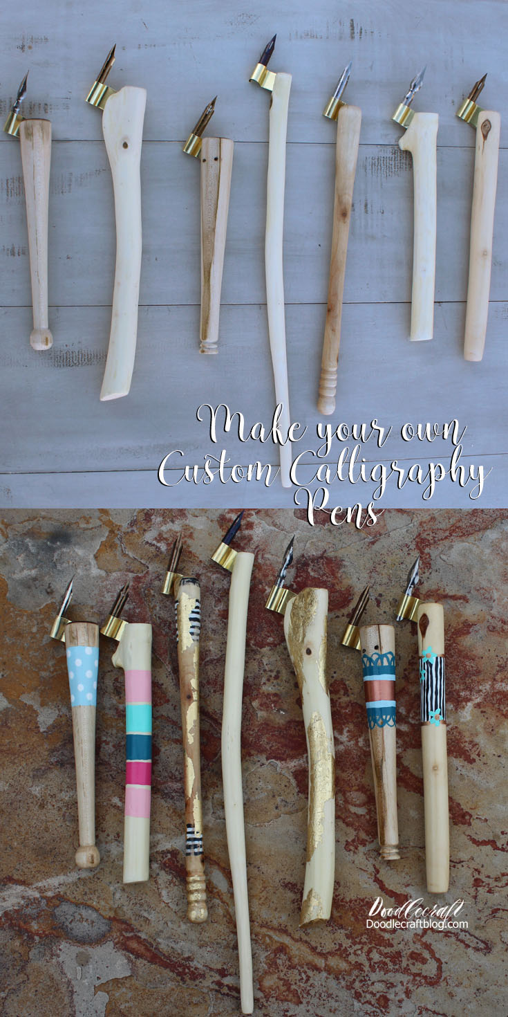 Doodlecraft: DIY: Make Calligraphy Pens Oblique Holder Part 2