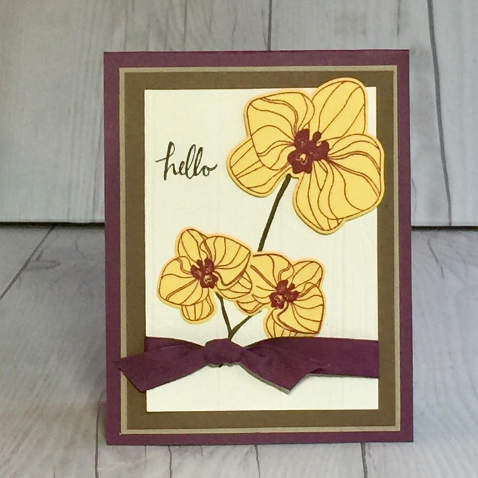 Самодельная открытка цветы
