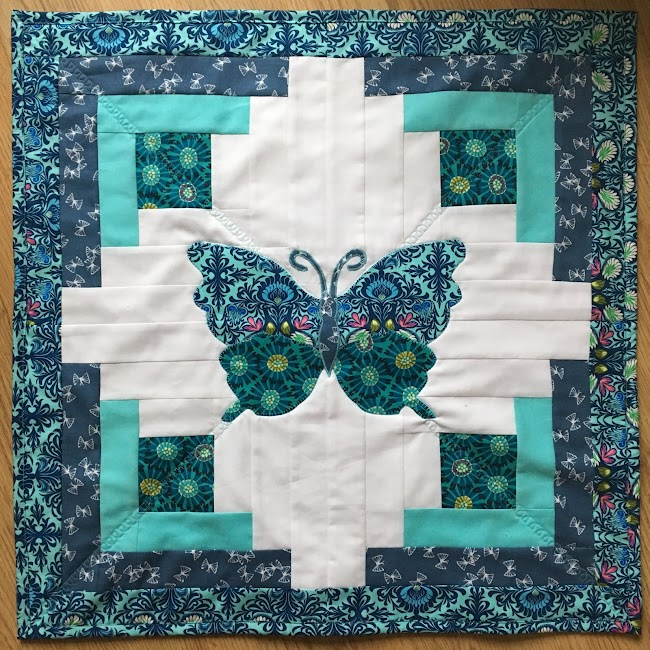 applique butterfly quilt