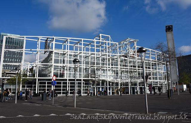 萊登, Leiden, 荷蘭, holland, netherlands, 火車站, centraal