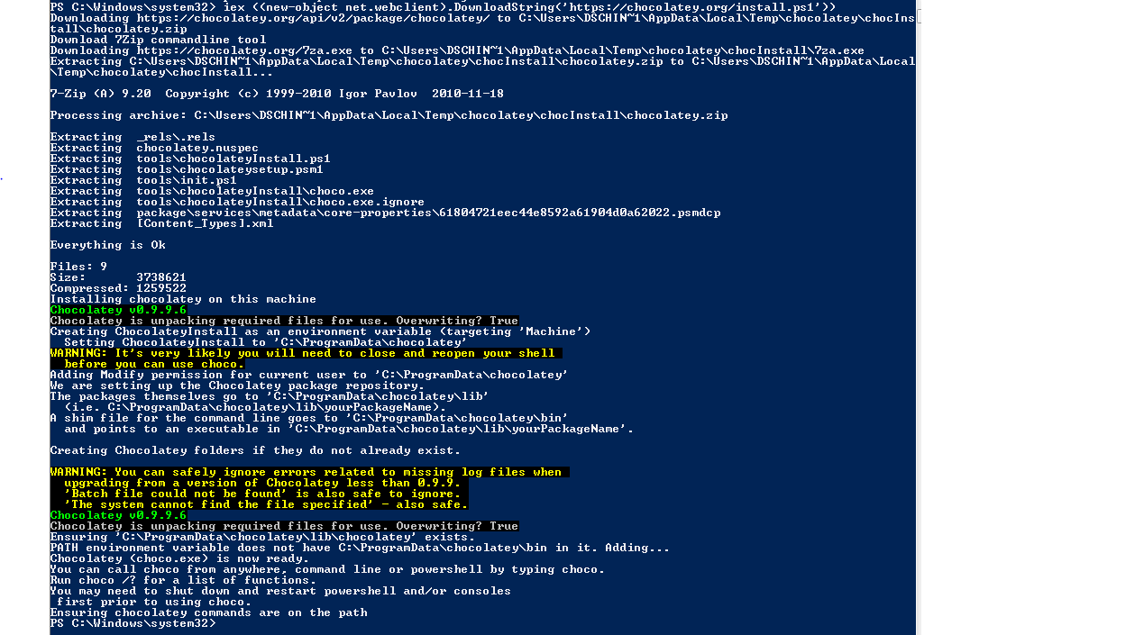 CodeZest: Installing & Using Chocolatey Package Manager for