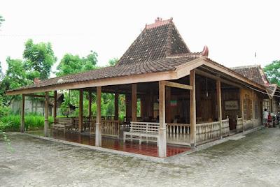 rumah tradisional joglo jawa tengah