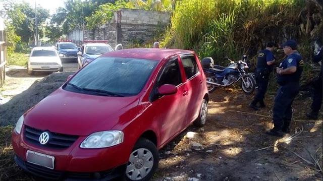 Guarda Municipal recupera três veículos roubados no Boa Vista em Cachoeiro do Itapemirim (ES)