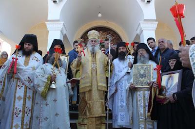 ИПЦ Греции: Празднование Пасхи в монастыре Живоносного Источника в Яннице. ФОТО