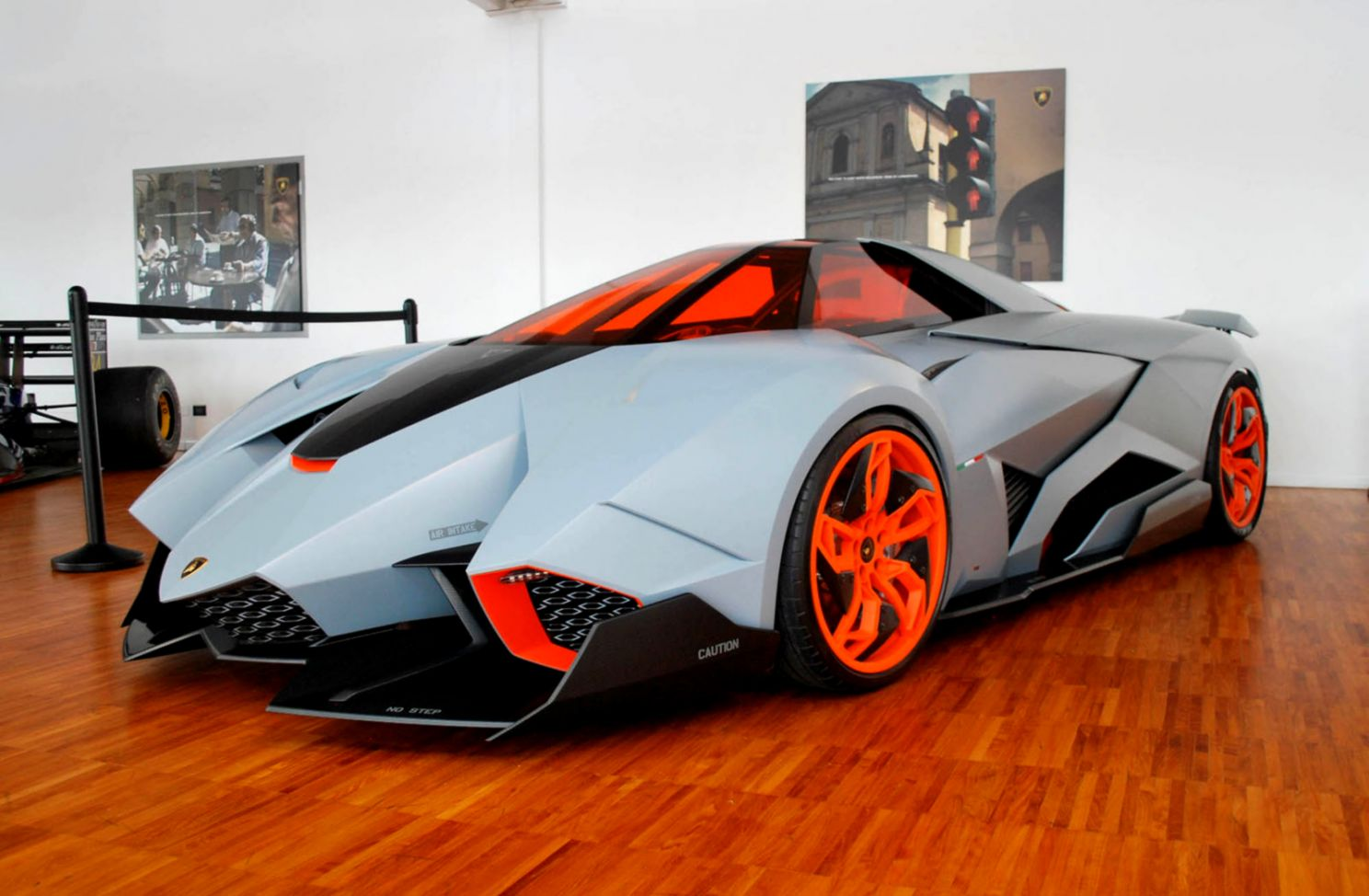 Lamborghini Egoista Mega Wallpapers