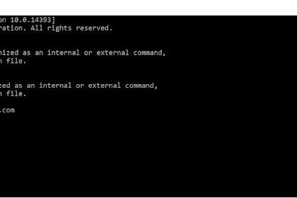 Kumpulan Perintah Perintah CMD Windows dan Fungsinya