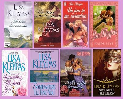 portadas de la novela romántica histórica Mi bella desconocida, de Lisa Kleypas