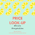 Price look-up #fruits #vegetables